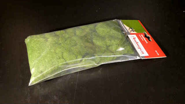 Grasfasern dunkelgrün 4,5 mm