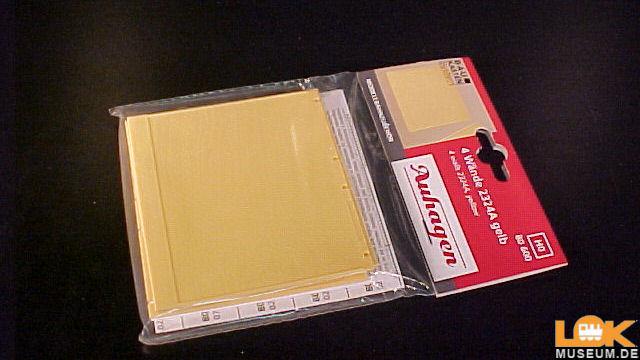 4 Wände gelb