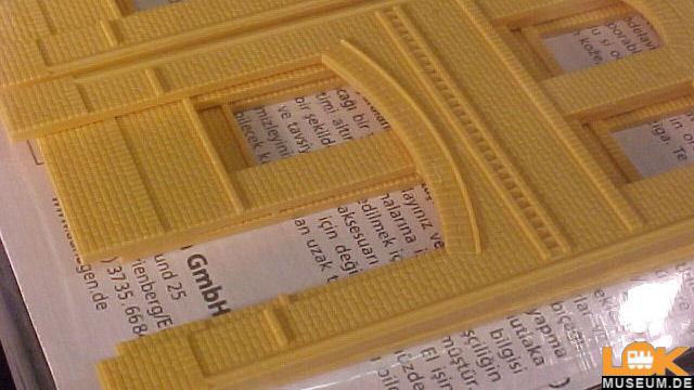 Wände gelb