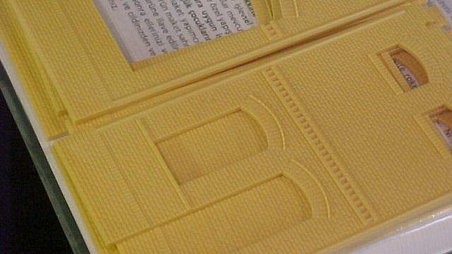 Wand 2410A, 2410B und 2410D gelb