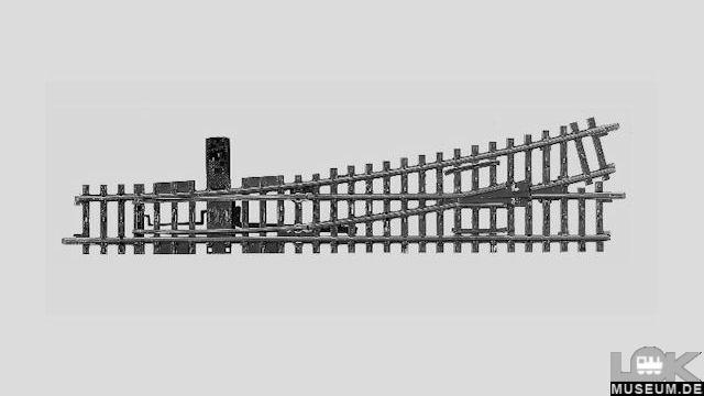 K-Gleis Weiche links R 902,4 mm