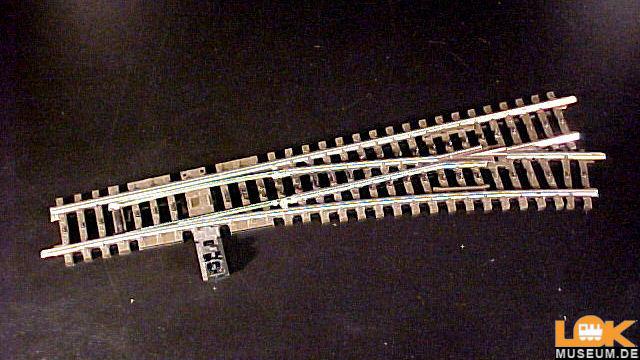 K-Gleis Weiche rechts R 902,4 mm