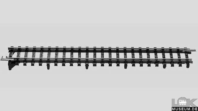 Übergangsgleis K- zu M-Gleise