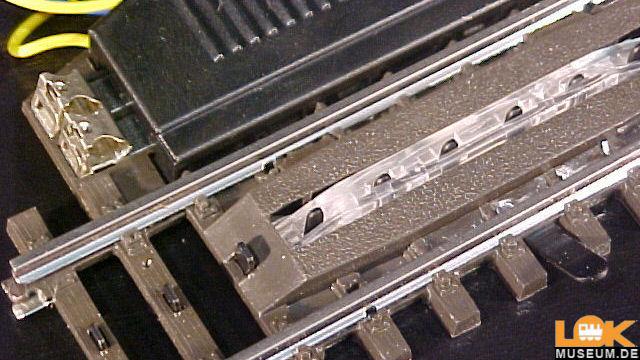 Entkupplungs-Gleis gerade 90 mm