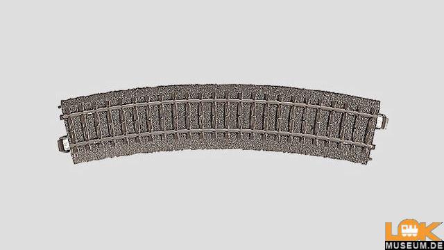 C-Gleis gebogenes Gleis