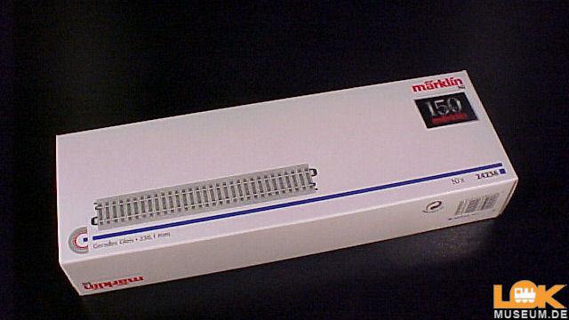C-Gleis Gerades Gleis 236,1 mm