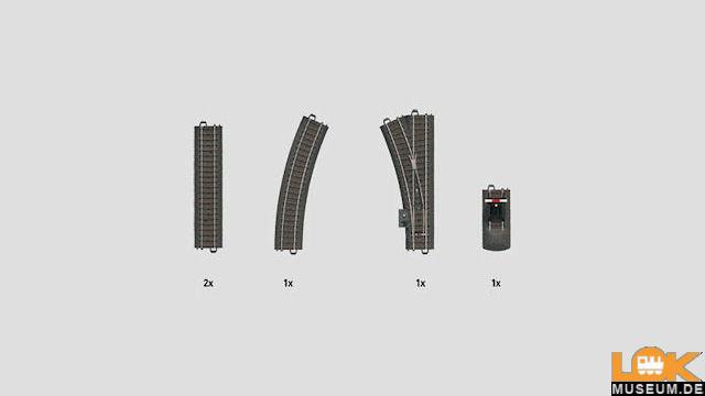C-Gleis-Ergänzungspackung C1