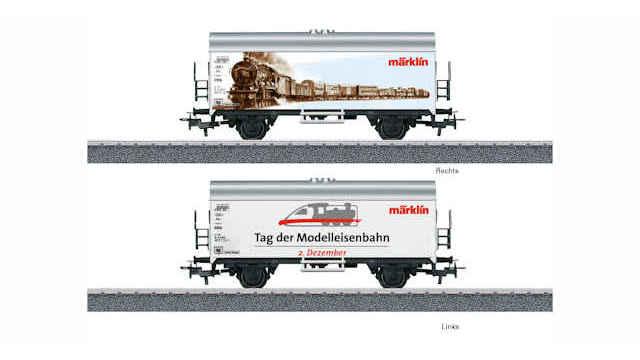 Kühlwagen Tag der Modelleisenbahn 2018