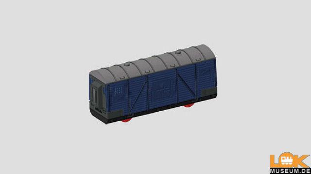 Gedeckter Güterwagen (Bausatz)