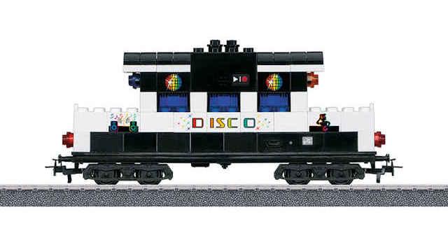 Bausteinwagen mit Sound und Lichtbausteinen