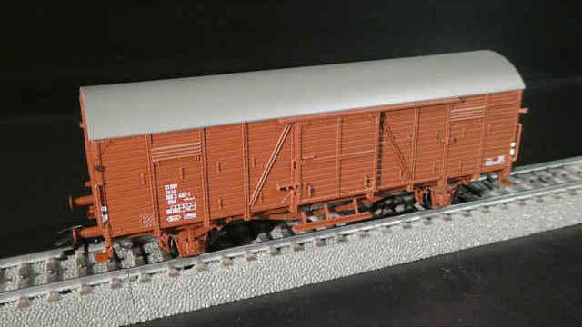 Gedeckter Güterwagen Gbl der SJ