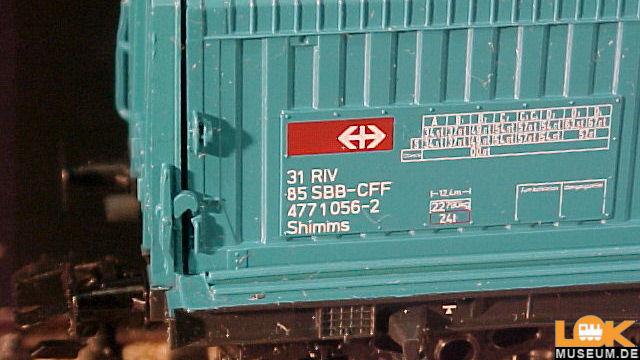 Märklin 4687 Drehgestellwagen mit Teleskophauben Onlineshop ...