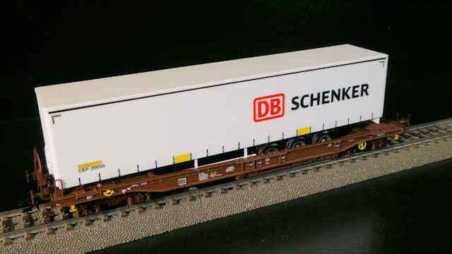 Taschenwagen-Set DB Schenker