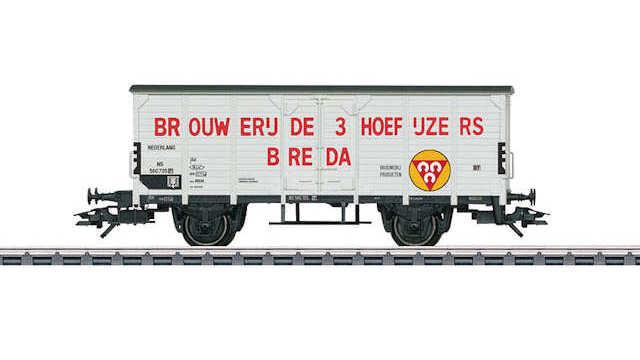 Märklin H0-48772 Bierkühlwagen Brouwerij de 3 Hoefijzers Breda NS Neuware
