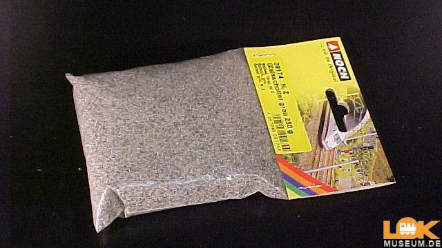 Gleisschotter grau 250 g