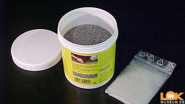 Klebeschotter grau 300 g