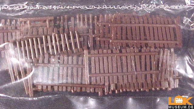 Ländliche Zäune Großpackung 53 Teile
