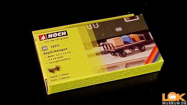 Laser-Cut Gepäckwagen 2 Stück