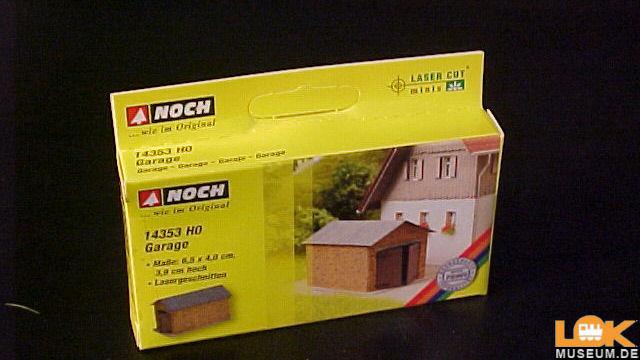 Laser-Cut minis Garage