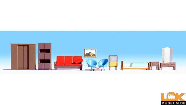 Möbel für Schlaf und Wohnzimmer