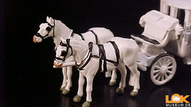 16706 Figuren Noch H0 Hochzeitskutsche mit Kutscher