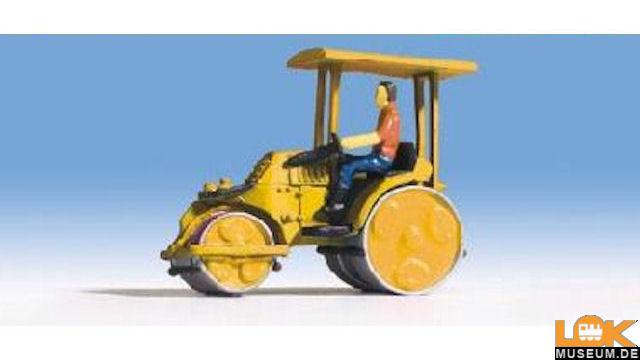 Zettelmeyer Straßenwalze gelb