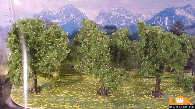 Obstbäume grün 3 Stück Classic