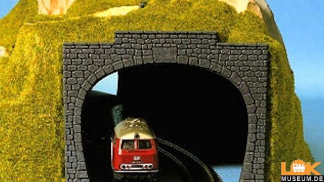 Tunnel-Portal 2gleisig
