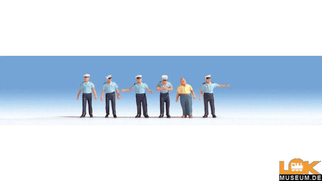 Verkehrspolizisten, 6 Figuren