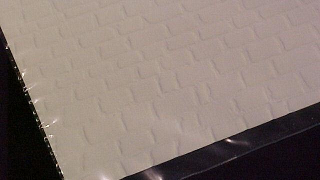 Mauerplatte Quaderstein extra lang