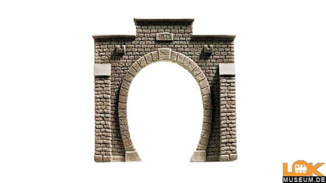 Tunnel-Portal 1gleisig PROFI-plus