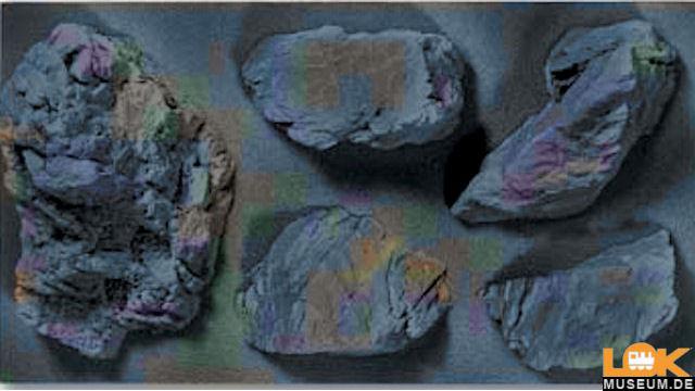 Struktur-Felsstücke Granit