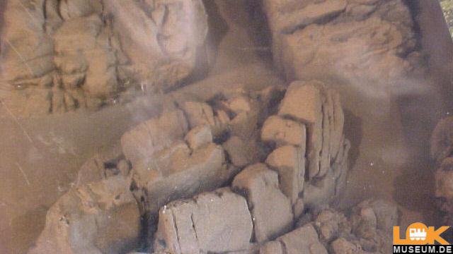 Struktur-Felsstücke Sandstein