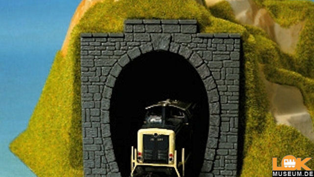 Tunnel-Portale 1-gleisig