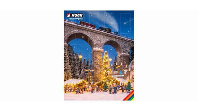 Bastel-Adventskalender Weihnachtsmarkt
