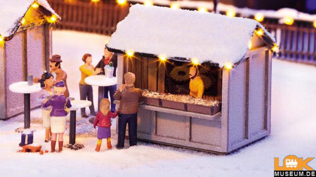 Weihnachtsmarkt Kombi-Set