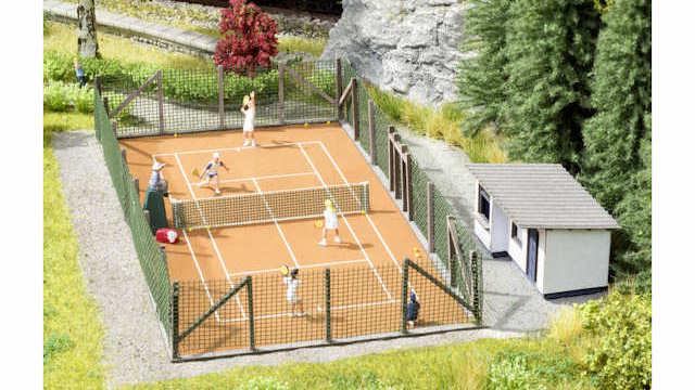 Themen-Set Tennisplatz