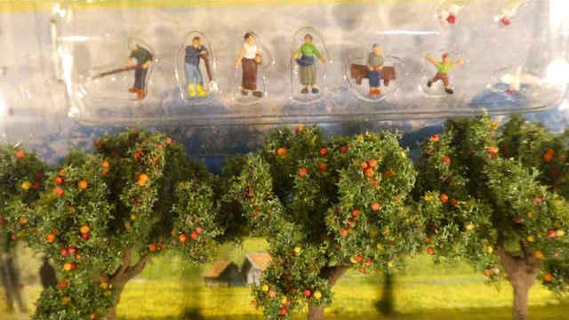 Set Landwirte Apfelbäume