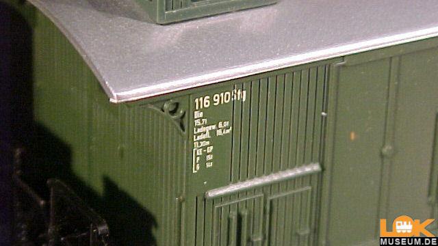 Gepäckwagen der DB