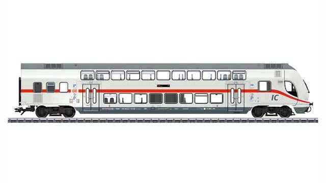 IC2 Doppelstock-Steuerwagen 2.Klasse der DB AG