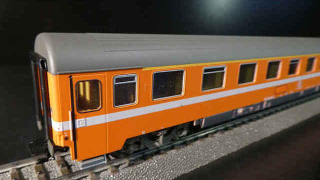 Personenwagen 1. Klasse der SNCB