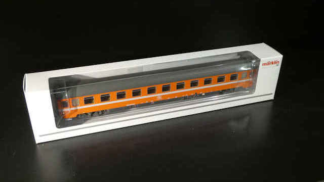 Personenwagen 2. Klasse der SNCB