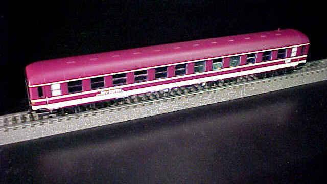Abteilwagen-Set Euro-Express