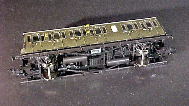 Abteilwagen 3.Klasse der DRG