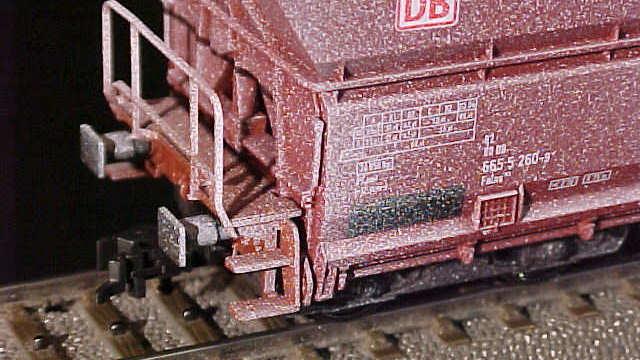 Großraum-Selbstentladewagen-Set der DB AG