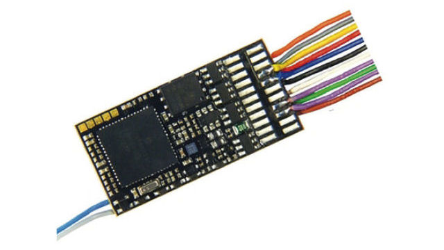 Sounddecoder mit Litzen und 8-poligem Stecker