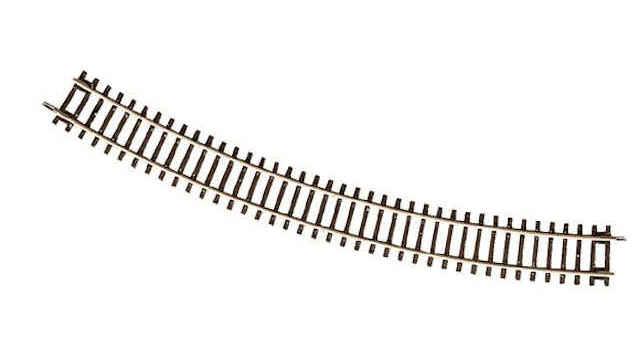 Gebogenes Gleis R5 30 Grad