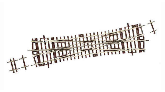 Doppelkreuzungsweiche DKW 15 Grad