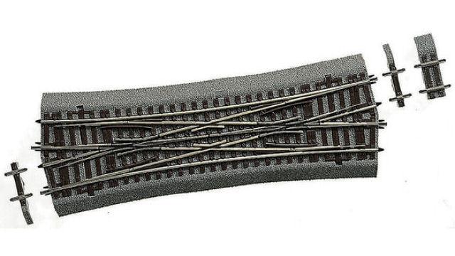 Doppelkreuzungsweiche 230 mm
