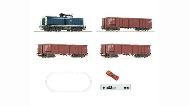 z21 Start Set Diesellok BR 211 mit Rübenzug DB